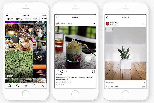 DimNiko - Instagram explore ads