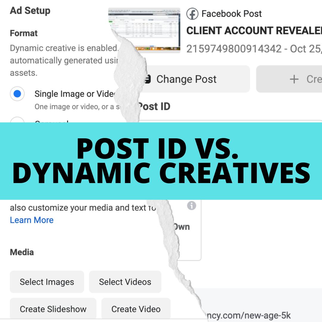 DimNiko | Post ID vs Dynamic Creative